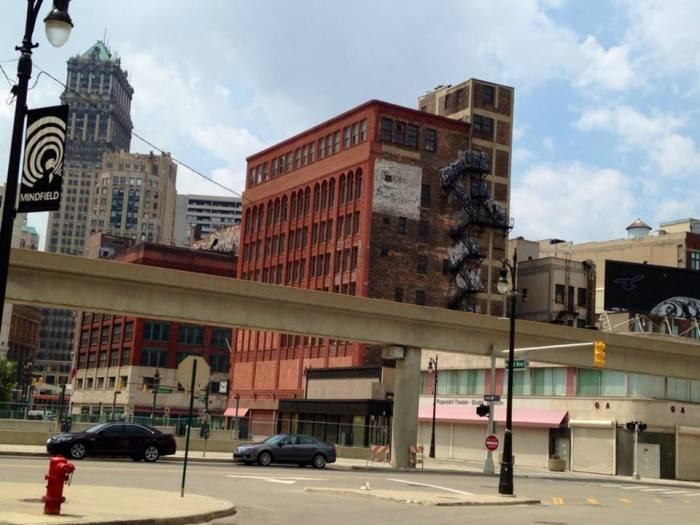 Detroit downtown 1