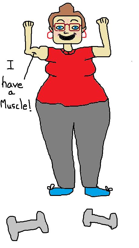 My impressive muscle.