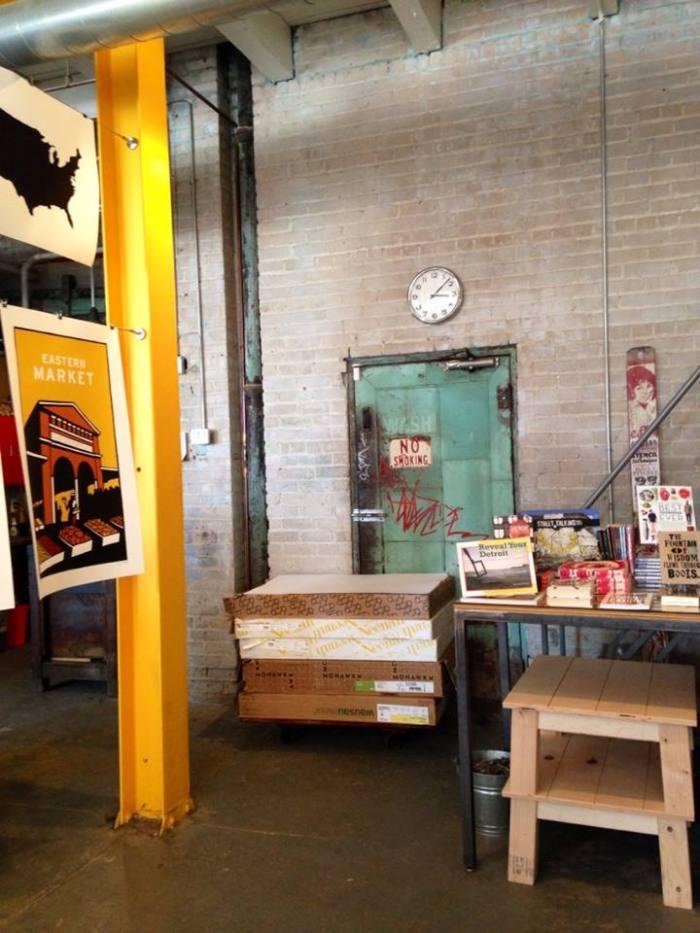 Neighborhoods Eastern Market Print Shop