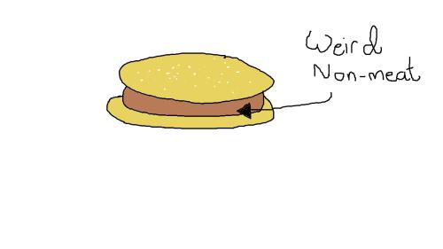 weird non-meat