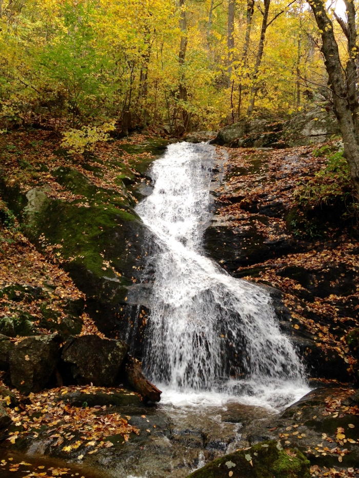 Crabtree Falls are apparently the tallest falls east of the Mississippi.