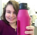 Me and my water bottle.
