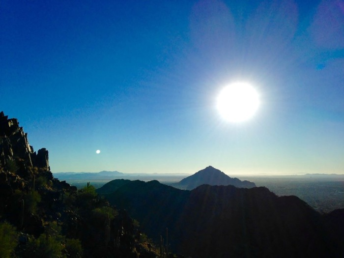 Phoenix 14 Sunrise Phoenix Mountains