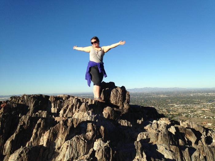 Phoenix 15 Phoenix Mountains on top