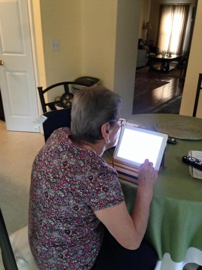 GRANDMA LEARNING EMAIL