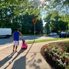 Deergate neighborhood walk